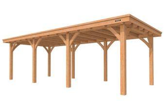 Overkapping Excellent plat dak