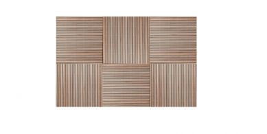 Tuintegel hardhout Surabaya 50x50 cm