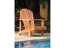 Hardhouten relax stoel