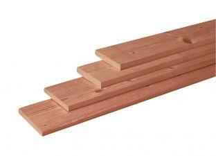 Woodvision Geschaafde plank Douglas 1,6x14x180 cm - Groen Geïmpregneerd