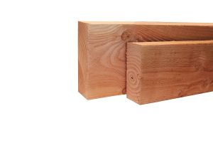 Woodvision Geschaafde gording Douglas 5,8x19x500 cm - Groen Geïmpregneerd
