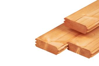Red Class Wood blokhutprofiel 4.4x14.5x600 cm