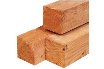 Red Class Wood pergolapaal