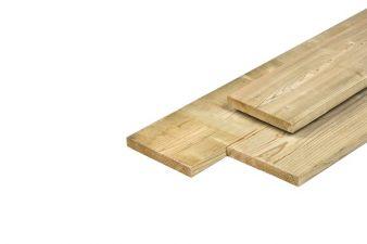 Noord-Zweeds planken glad geschaafd 1,9x14,5x240 cm