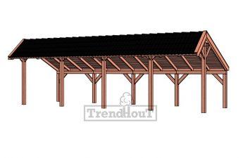 Trendhout Kapschuur De Heerd 980 cm