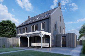 Aanbouwveranda Ancona 375x330 cm - plat dak