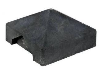 Afdekpet T-afwerking antraciet voor rots-/leisteen-/houtmotief