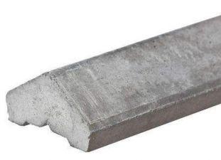Betonafdekkap voor motief platen wit/grijs 180cm