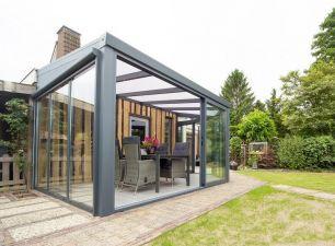 Aluminium tuinkamer aan huis foto