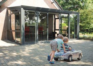 Aluminium aan huis tuinkamer