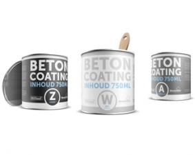 Coating betonverf 750 ml ral 9010 wit