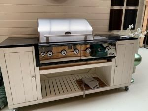 Cooker DeLuxe incl. Boretti Ligorio Top Buitenkeuken met BBQ - Showmodel Numansdorp