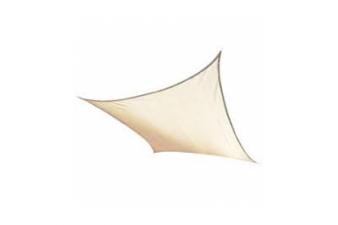 Schaduwdoek vierkant 500x500 cm - Zand - SALE008