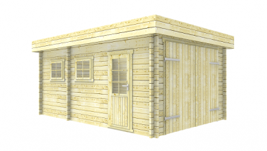 Interflex Garage 3755 375x550 cm plat dak