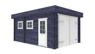 Interflex Garage 3755 375x550 cm - Gecoat plat dak