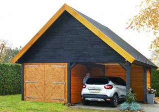 Garage Woodville 300x486 cm +luifel 286 cm