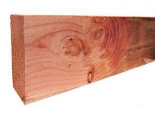 Fijnbezaagde gording Douglas 5x15x300 cm - groen geïmpregneerd