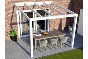 Greenline veranda 500x250 cm , 2 staanders