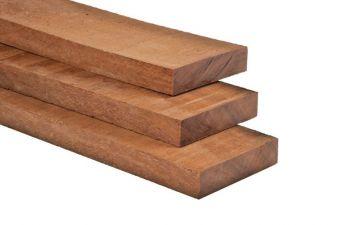 Hardhouten funderingsbalk fijnbezaagd 4,4x19,5x500 cm