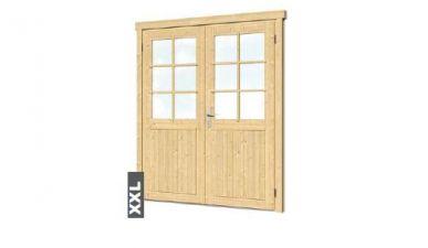 Extra hoge en brede deur B174xH209 cm Linksdraaiend