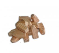Lariks/Douglas houten pennen voor het wegwerken van schroefgaten
