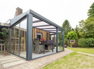 Aluminium tuinkamer aan huis