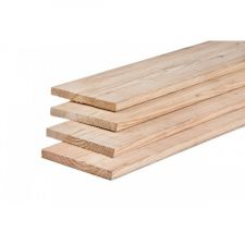 Kantplank Lariks/Douglas onbehandeld 2,5x25x300 cm
