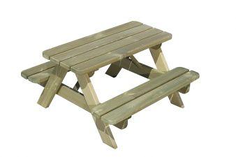 Kinderpicknick tafel Rechthoek
