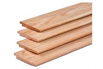 Lariks/Douglas potdekselplank onbehandeld 1-2x15x400 cm