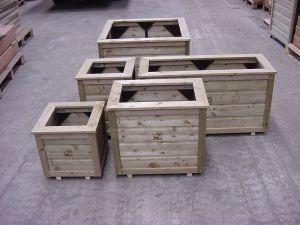 Bloembak 80x80x65 cm