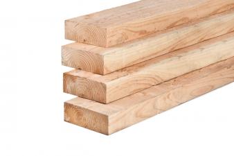 Lariks/Douglas ligger onbehandeld (vers hout) 10x20x600 cm