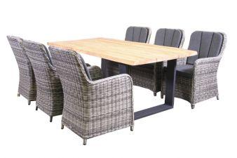 Tuinset Masca tafel en stoelen