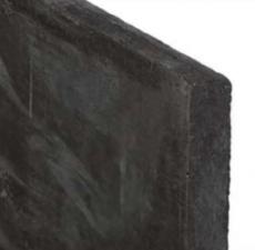 Onderplaat antraciet 3,5x25x184cm