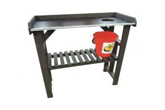 Oppottafel/ werktafel