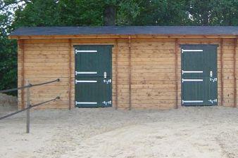 Paardenbox Duo 750x380 cm
