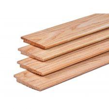 Lariks/Douglas potdekselplank onbehandeld 1,1-2,2x19,5x300 cm