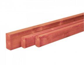Woodvision Geschaafde regel Douglas 4,5x4,5x300 cm - Groen Geïmpregneerd