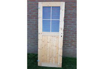 Vuren deur met slotkast 71x182,5 cm - SALE0343