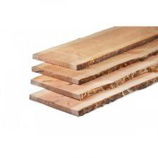 Lariks/Douglas schaaldelen onbehandeld 2,5x25-30x300 cm