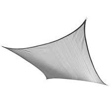 Sunsail schaduwdoek vierkant 500 cm grijs