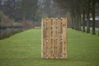 Tuindeur Hoogeveen H180xB100cm