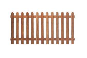 Tuinhek hardhout recht H60xB180 cm
