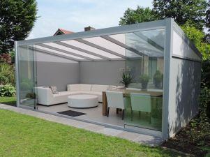 Profiline terrasoverkapping - vrijstaand - 500x350 cm - polycarbonaat dak