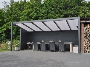 Profiline terrasoverkapping - vrijstaand - 600x300 cm - polycarbonaat dak
